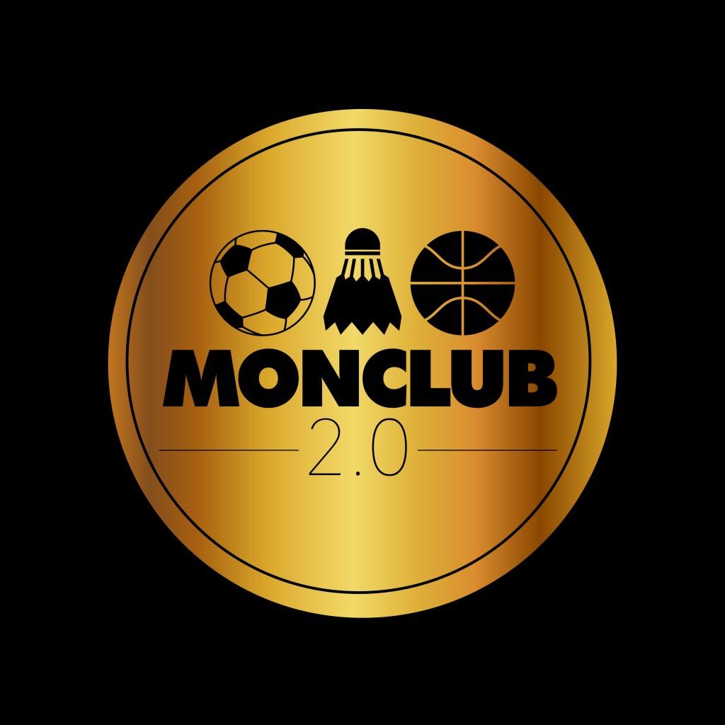 logo complet or sur noir